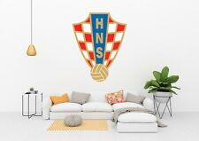 Croatia Soccer National team  Wall Decal for Home Interior Decoration