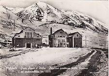 # L'AQUILA: GRAN SASSO - STAZIONE PARTENZA FUNIVIA ED AUTORIMESSA  1953