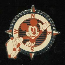 Mickey Patches Booster Set Mickey Compass With Suitcase Disney Pin 102038