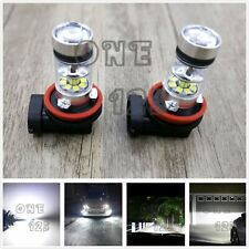 New Super Bright H8 H9 H11 H16 6000K White 55W CREE LED Conversion Kit Fog Light