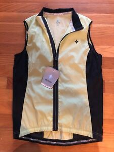 SPECIALIZED FormFit Deflect Full Zip Sleeveless Bike Cycling Vest Women's Size M