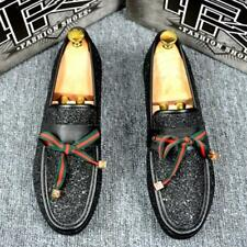 British New Moccasins Driving Shoes Formal Casual Loafers Mens Board Shoes Soft