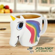 El 3D Original Cambio De Color unicornio Taza Novedad Taza por Thumbs Up! en Stock!!!