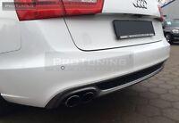 S Sline look skirt for AUDI A6 4G 11-15 Limo Sedan rear Bumper diffuser Berlina