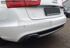 A6 4G C7 11-15 Berlina Limousine Paraurti Posteriore Diffusore Spoiler S Sline BERLINA AUDI RS