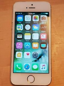 Apple iPhone 5S 16GB - Gold - A1533 - screen issue - unlocked