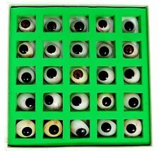 New Artificial Prosthetic Eyes Set Of 25 Pieces Box Realistic Human Natural Eye
