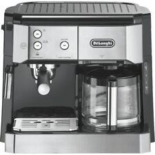 Delonghi BCO 421.S Silber-Schwarz Kombi-Kaffee-/Espressomaschine 1.750 Watt