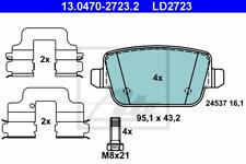 Bremsbelagsatz Scheibenbremse ATE Ceramic - ATE 13.0470-2723.2