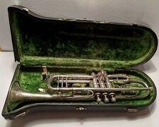 1920's Buescher Model 9 Trumpet Elkhart with case