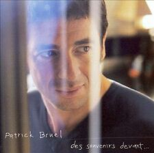 FREE US SHIP. on ANY 2 CDs! USED,MINT CD Patrick Bruel: Des Souvenirs Devant Imp