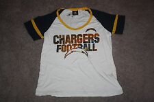 NWT TEAM APPAREL WOMENS SAN DIEGO CHARGERS SHIRT - SIZE LARGE - FOR $28!!!