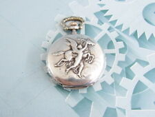 Longines Antique art plots pocket watch  silver 900 samples in art deco style