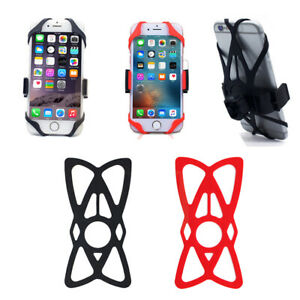 Silicone Strap Universal Support Band for Mountain Bicycle Phone Holder Portable