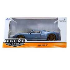 Bigtime Kustoms Series: 2005 Ford GT (Matte Blue) 1/24 Scale