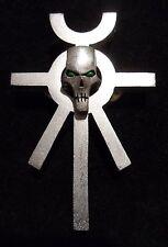 40k Necron Ankh (brushed silver)
