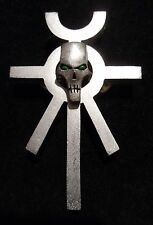 Necron Ankh talisman pin
