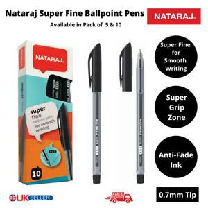 Nataraj Super Fine Ballpoint Pens Black