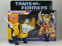 Transformers G1 Decepticon Headmaster Weirdwolf  KO Action Figure Boxed