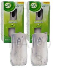 2 X  AIR WICK FRESHMATIC AUTOMATIC SPRAY MACHINE UNIT FRESHENER HOME OFFICE
