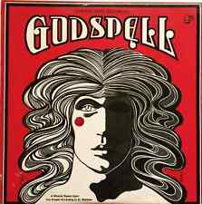 ORIGINAL LONDON CAST ‎- Godspell (LP) (VG+/VG-)