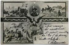 cartolina militare BERSAGLIERI