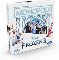 Monopoly Disney Frozen 2 Edition by Hasbro - New Frozen II Monopoly Board Game