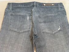 064 WOMENS NOBODY CHAR STRETCH JEANS SZE 28 EX-COND, $220 RRP.