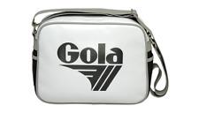 Taschen Gola Redford Schultertasche  Kuriertasche Weiß - Schwarz NEU