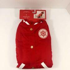 Wondershop Pet Dog Varsity Jacket Medium up to 50 Lbs Red