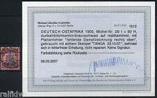 DOA 60 Heller Yacht Plattenfehler 1905 Befund (S7100)