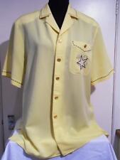 Ladies BASLER - Yellow Blue/White Nautical Stitched Detail Short/S Blouse - 14