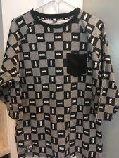 DGK Dirty Ghetto Kids Checkered Mens Medium Half-Sleeve Shirt