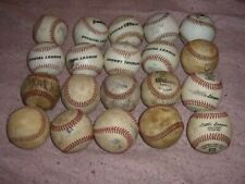 Baseball Ball Lot 20 Practice Balls S19