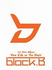 BLOCK B [NEW KIDS ON THE BLOCK] 1st Mini Album CD+Photo Book K-POP SEALED