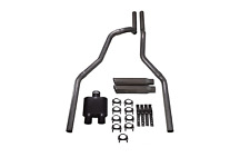 """04-14 Ford F-150 Truck 2.5"""" Dual Exhaust 2 Chamber Muffler Clamp on Tips"""