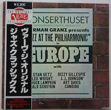 JAZZ AT THE PHILHARMONIC IN EUROPE Vol. 6 LP JAPAN OBI Strip NM Dizzy Gillespie