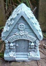 "Latex fairy house mold plaster concrete casting mould 4"" x 3"""