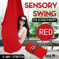 Kids Therapy Swing Up To 220LBS Autism Adhd Aspergers Sensory Cuddle Hammock