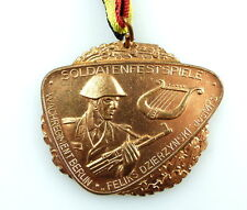 #e4054 DDR Medaille Soldaten - Festspiele Wachregiment Dzierzynski des MfS