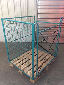 Gitteraufsatzrahmen Aufsatzrahmen Kommissionierbox Gitterbox Holz GAR-1082
