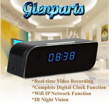 Hidden Camera Table Clock Real-Time Video Remote View Babysitter Nany Cam