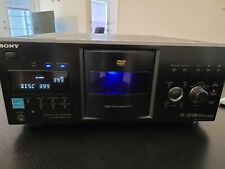 Sony DVP-CX995V DVD/CD DISC EXPLORER 400 Disc with Remote