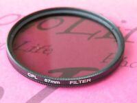 CPL 67mm Filter Ultra Violet For Canon Sony Nikon Pentax Camera Lens SLR DSLR
