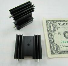 "6 Tiger Vertical Aluminum Alloy Heatsinks 1.367"" x .497"" x 1.256"" Transistor New"