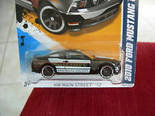 Hot Wheels 2010 Ford Mustang GT HW Main Street 12 Sheriff Kootenai County