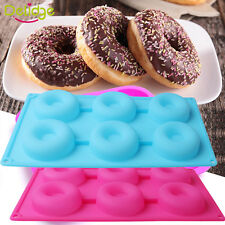 New listing Silicone Donut Doughnut Cake Mould Chocolate Soap Candy Jelly Mold Baking Pan