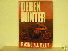 DEREK MINTER RACING ALL MY LIFE,NORTON,EMC,SUZUKI,HONDA