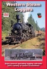 Western Steam Loggers DVD Greg Scholl Rayonier West Side Lumber Pickerling Shay