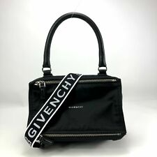 GIVENCHY Black Small 4G Pandora Messenger Shoulder Bag
